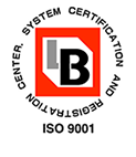 LB SYSTEM CERTIFICATION AND REGISTRATION CENTER. ISO 9001